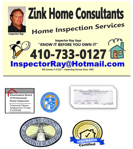 Zink Home Consultants Home Inspections Maryland