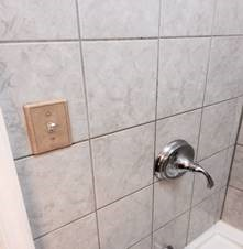 Electrical switch in the shower!