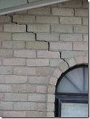 Cracks detected during a home inspection can point to larger foundation concerns.