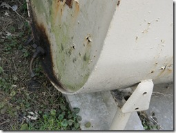 Home Inspection reveals leaking oil tank