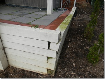 Home inspection of retaining walls